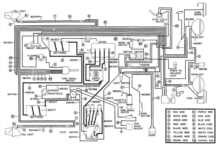 Best Of Ez Go Powerwise Qe Charger Wiring Diagram In 2020