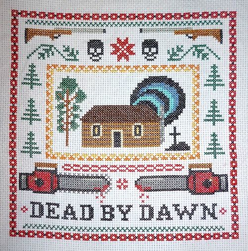 Evil Dead Cross Stitch