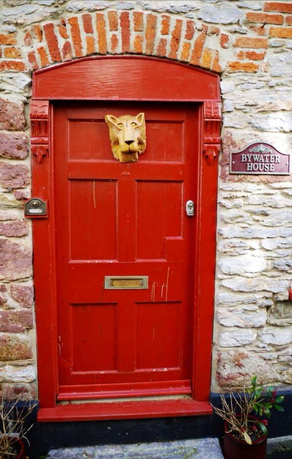 By Water House Door - Cornwall England & 381 best Old English Doors Knockers locks and Keys. images on ...