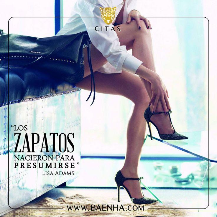 """""""Los Zapatos nacieron para presumirse"""" #zapatos #cita #quote"""
