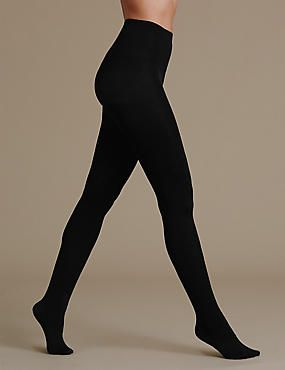 80 Denier 2 Pair Pack Supersoft Opaque Tights