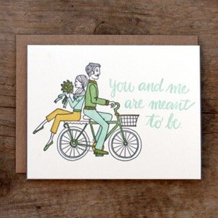 1Canoe2 Card You And Me Are Meant To Be