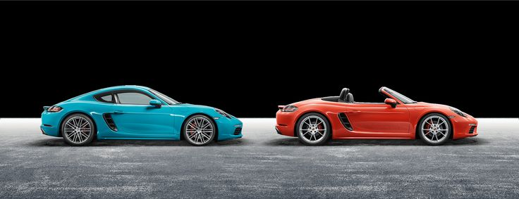 For the sport of it. The new Porsche 718 Cayman and 718 Boxster models. | Porsche Great Britain