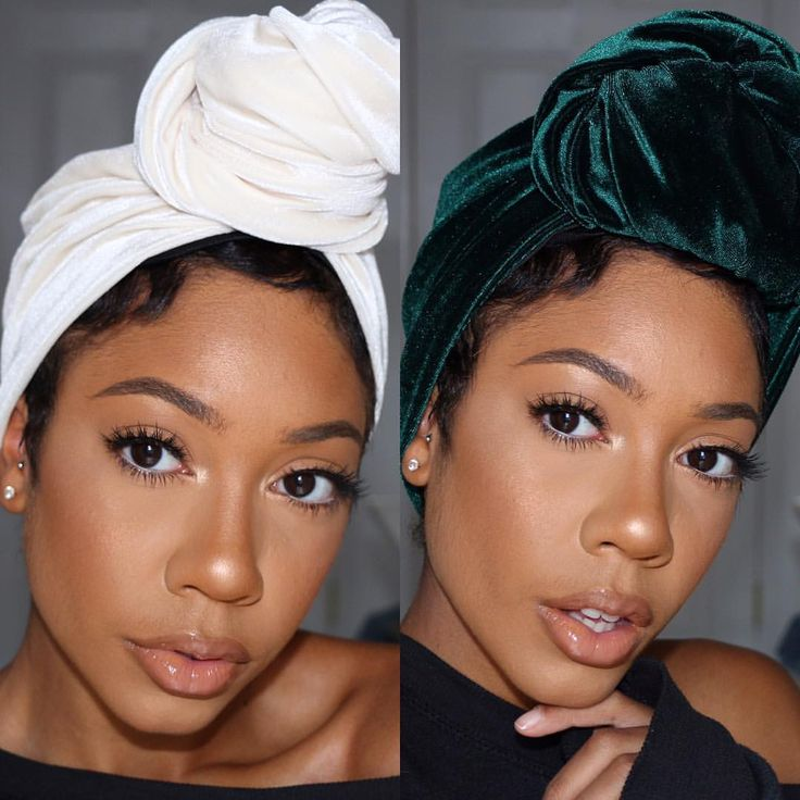 These are RAW photos! Didn't even need to touch it up! These turbans are amazing! @musebeautyco