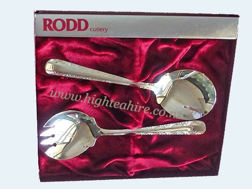 Rod Silver Salad Servers for hire
