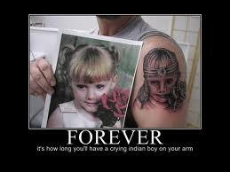 Tattoo gone wrong...and you paid how much for this?