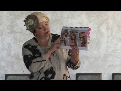Ольга Шулико и шляпки из волойка. Посиделки в Минске 2017 - YouTube
