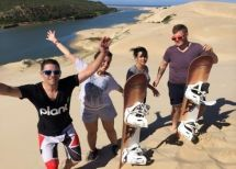 Sandboarding Sunday's River offers sandboarding trips on the Alexandria dunes near Port Elizabeth, South Africa.