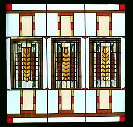 Love Frank Lloyd Wright windows   color scientistFrank Lloyd Wright Stained Glass Circles