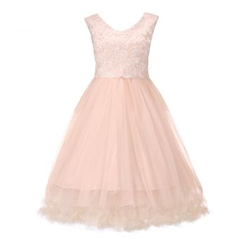 Anais Parfait Pink Occasion Dress | Vintage Styles Dresses - Lindy Bop