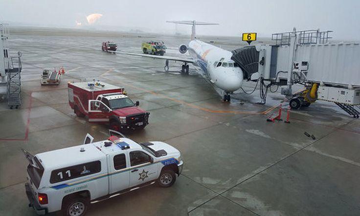 Allegiant Flight Aborts Takeoff after Blown Engine - http://www.airline.ee/allegiant-air/allegiant-flight-aborts-takeoff-after-blown-engine/ - #AllegiantAir