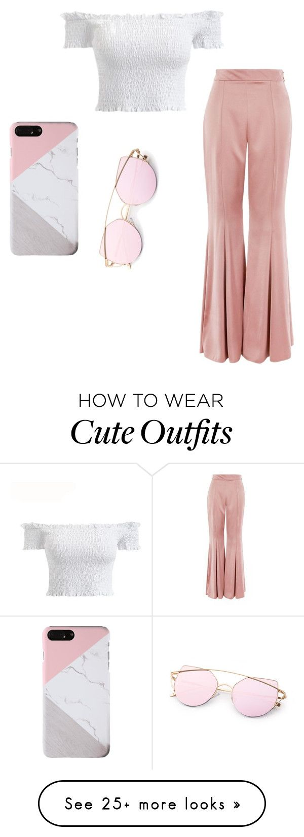"""""""This outfit is super cute for on the go or out on the town"""" by sunnystar123 on Polyvore featuring Topshop"""