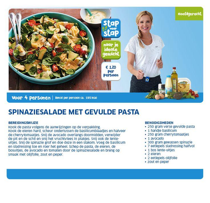 Spinaziesalade met gevulde pasta - Lidl Nederland