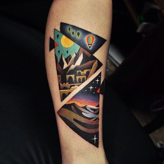 40 Unique Triangle Tattoo Meaning and Designs - Sacred Geometry  http://tattoo-journal.com/?p=7720 #TriangleTattoo