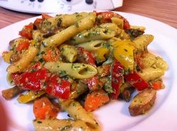 Penne with Pesto and Vegetables -Thermomix#Repin By:Pinterest++ for iPad#
