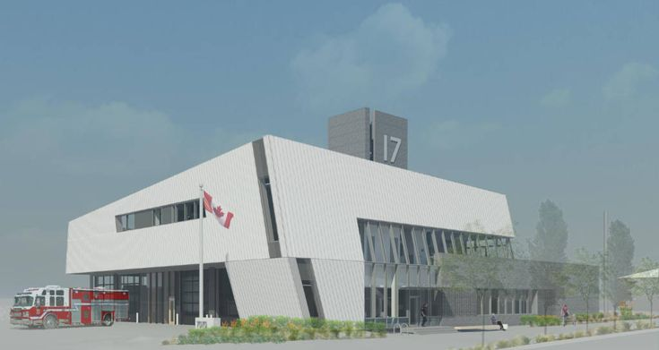 Vancouver fire hall first to be built to Passive House standards - Construction Canada