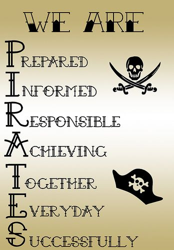 """Pirate Theme for Elementary Classroom   almost finished with my """"Captain's Crew"""" job chart and I ..."""