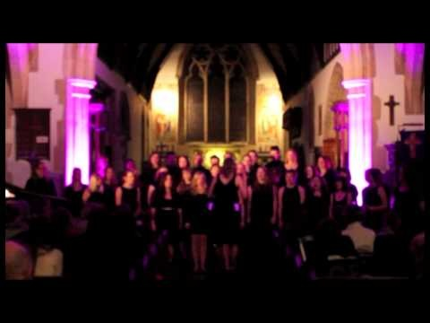 Swansea Uni Choral Society 'smash' their cover of 'Feel The Love' - says the original artist :)