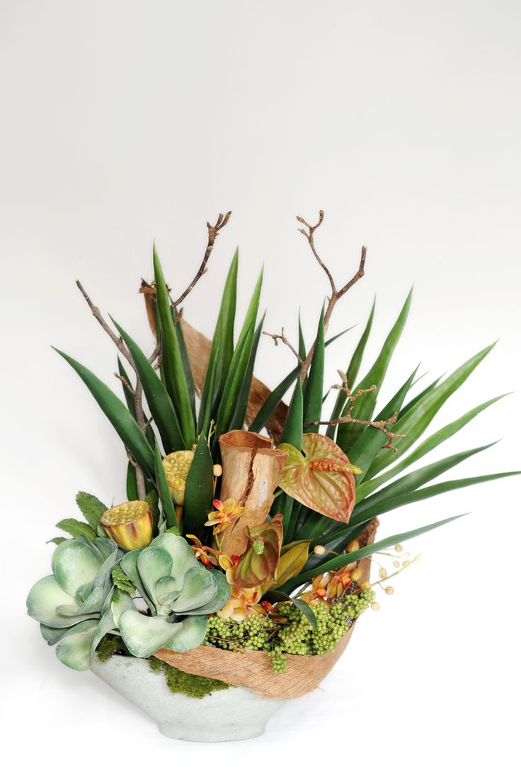 Our stunning artificial flowers are delivered to