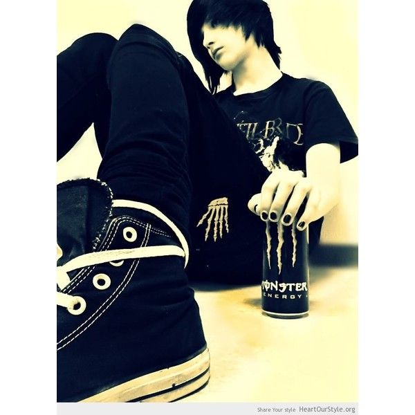Emo is my life ❤ liked on Polyvore featuring boys, people, guys, hair and emo