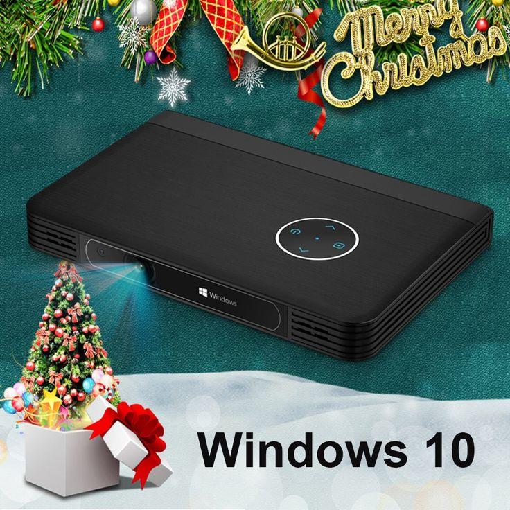 557.58$  Buy now - Portable Projector 1080P Mini LED Projector Full HD Projector Windows 10 4K Home Cinema Mini HD Beamer HDMI USB WIFI Bluetooth  #aliexpressideas