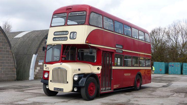 Huddersfield Corporation Passenger Transport 472, HVH 472D. No 40 Huddersfield via Paddock.