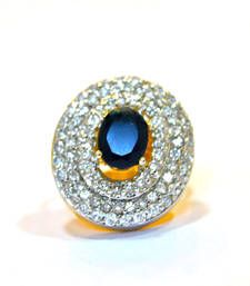 Buy Sapphire Diamond Cocktail Ring Online