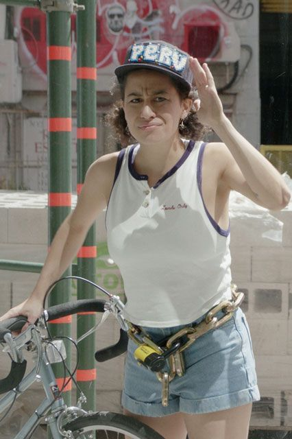 25 Halloween Costumes For Badass Feminists #refinery29  Ilana Wexler Broad City's a few years old, but the series continues to serve up fresh new jokes — and some serious fashion inspiration. Throw together a quick tribute to Ilana with a baseball cap, white tank top, jean shorts, orange sneakers, and — the pièce de résistance