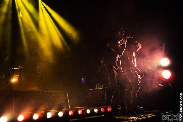 The Prodigy, Halle Tony Garnier (Lyon), le 16 avril 2015.
