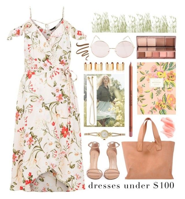"""summertime"" by foundlostme ❤ liked on Polyvore featuring Stuart Weitzman, Pedro García, Rolex, H&M, MAKE UP FOR EVER, Jules Smith, Birchrose + Co., Rifle Paper Co, Urban Decay and Hot Topic"