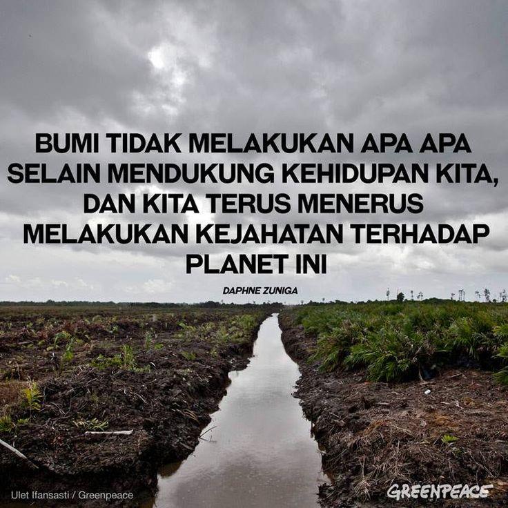 Tertutupnya Indonesia oleh kabut asap saat ini adalah buah dari tertutupnya tata kelola kehutanan kita selama ini. Tidak ada data pasti siapa yang memiliki konsesi mana, siapa yang harus bertanggung jawab, dan bagaimana proses pemberian izinnya. Ini adalah warisan dari praktik perusakan hutan selama berdekade oleh perusahaan kertas dan kelapa sawit yang direstui oleh pemerintah. Hapus kabut asap dengan mendesak transparansi data kehutanan kita.