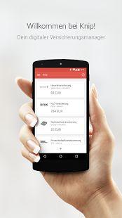 Knip Versicherungsmanager–Mit Knip hast du all deine Versicherungen, Leistungen und Tarife digitalisiert in einer App. Knip ist die transparente und professionelle Schnittstelle zwischen dir und deinen Versicherungen - und bleibt für dich immer kostenlos.