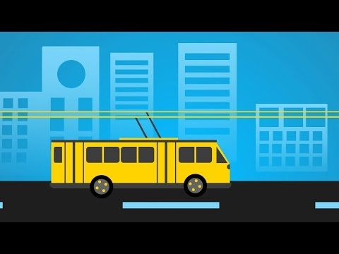 Siemens​ introduces an innovative electric infrastructure that aims to make the freight transportation sector pollution free! - YouTube