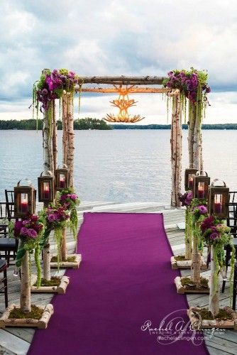 24 backdrop ideas for ceremony reception and more 23