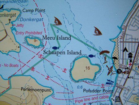 Langebaan lagoon map (www.bokkom.co.za)