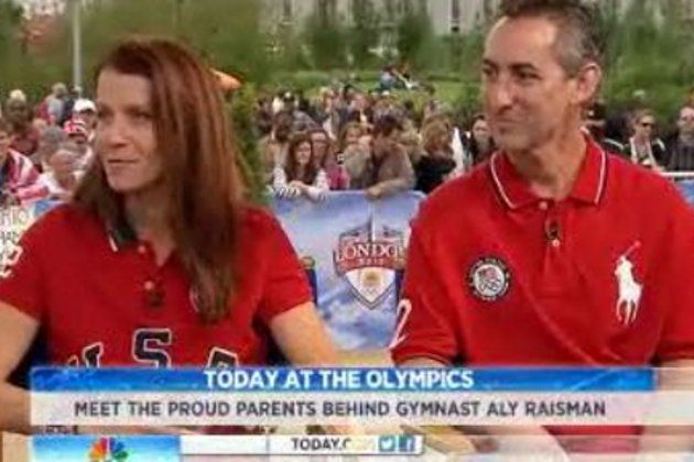 Aly Raisman Parents Today Show
