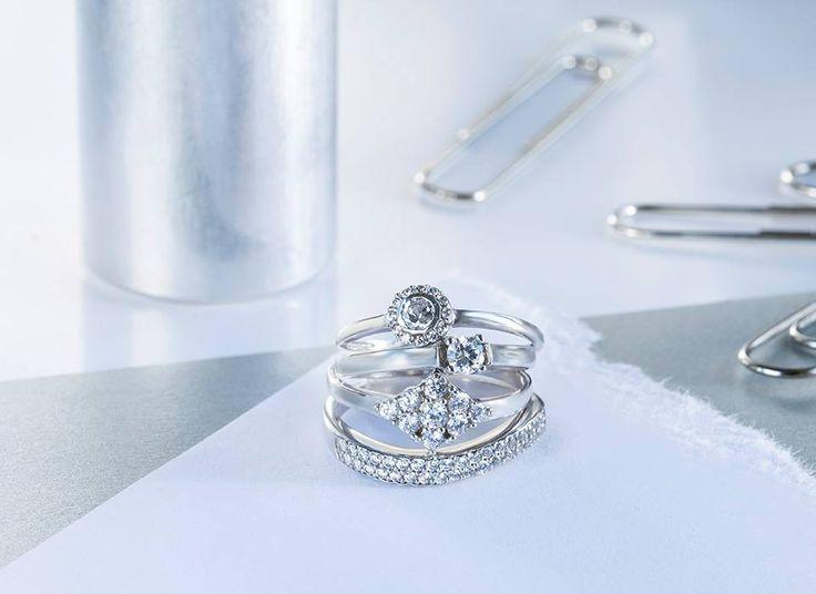 Diamantové potěšení. Který z prstenů byste si vybrali vy?   #klenotnictvipraha #zlatnictvipraha #sperky #prsten #zasnubni #snubni #wedding #engagement #diamant #diamantes #diamond #bluediamond #luxus #luxury #willyoumarryme #bridetobe #darecek #proradost #knarozeninam #fashion #kvyroci #zlato #gold #whitegold #bilezlato #svatba #zasnuby #rings #moda #klenotacz