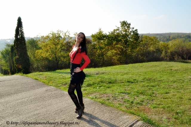 Life, passion and beauty: Outfit: I know there is a land of beautiful flowers