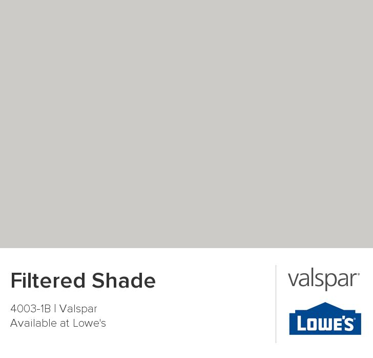 Filtered Shade from Valspar Upstairs fireplace