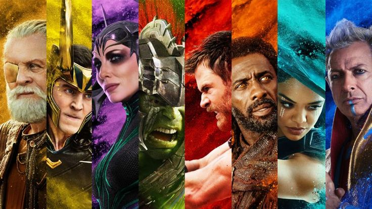 Thor: Ragnarok gets new character posters for Thorsday   Today is Thorsday and Marvel Studios has released new character posters for the upcoming Thor: Ragnarok film. Theseposters are vibrant and have some trippy sand-like effects featuring Odin Loki Hela Hulk Thor Heimdall Valkyrie and Grandmaster. In addition advance tickets for the film are now available for purchase.  Check out the individual character posters below.  Synopsis: In Marvel Studios Thor: Ragnarok Thor is imprisoned on the…