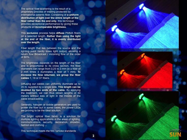 luminous textile : : glowing fabrics