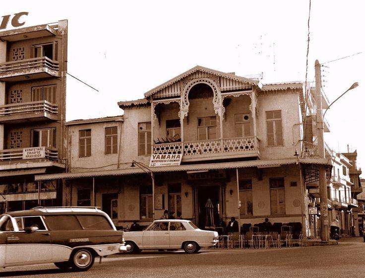 Σκηνή από τη πόλη του Ηρακλείου στη Κρήτη, το 1973