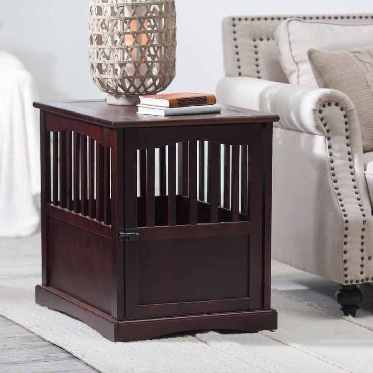 Have to have it. Newport Pet Crate End Table - $129.99 @hayneedle