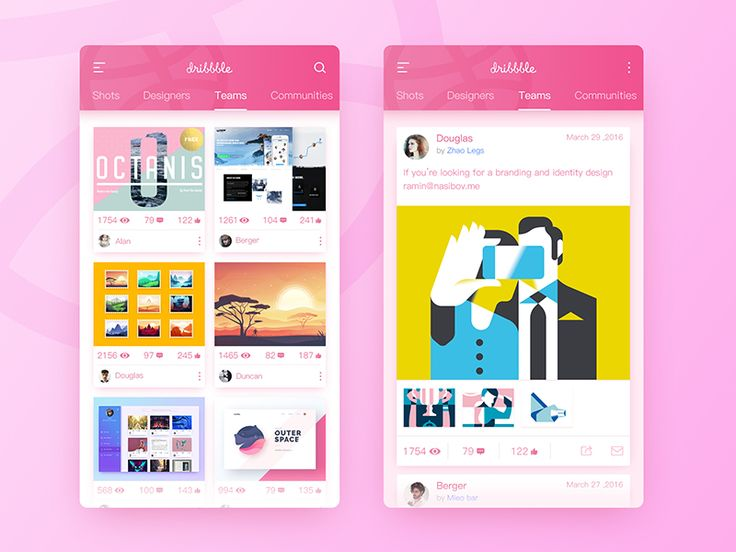 Personal Homepage - Disribble by slient