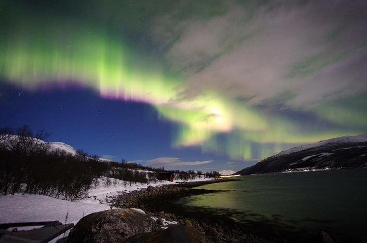 Northern Lights at our camp! winter 2015/2016 ©亨小利