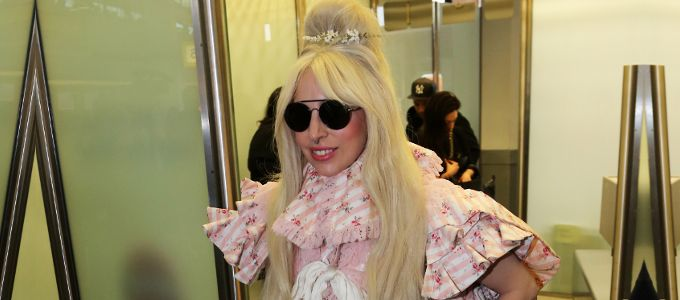 New candid pictures: Lady Gaga leaving LAX airport & arriving in Berlin, Germany