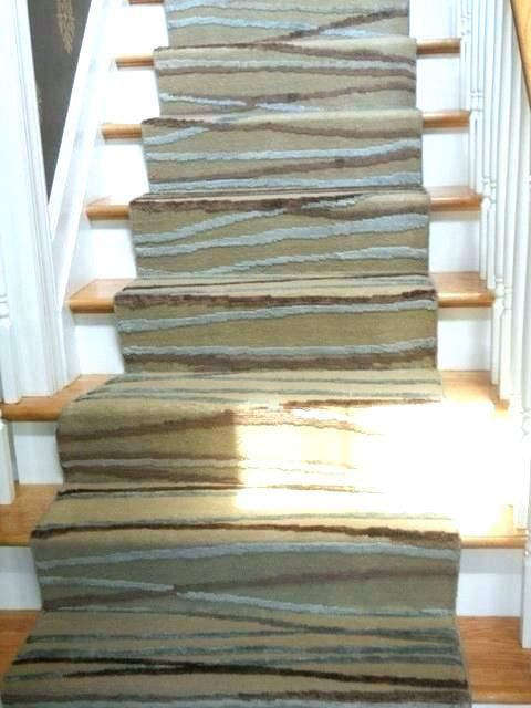 Wood Stair Runners Home Depot Runner Rug Perfect Contemporary Carpet Floor