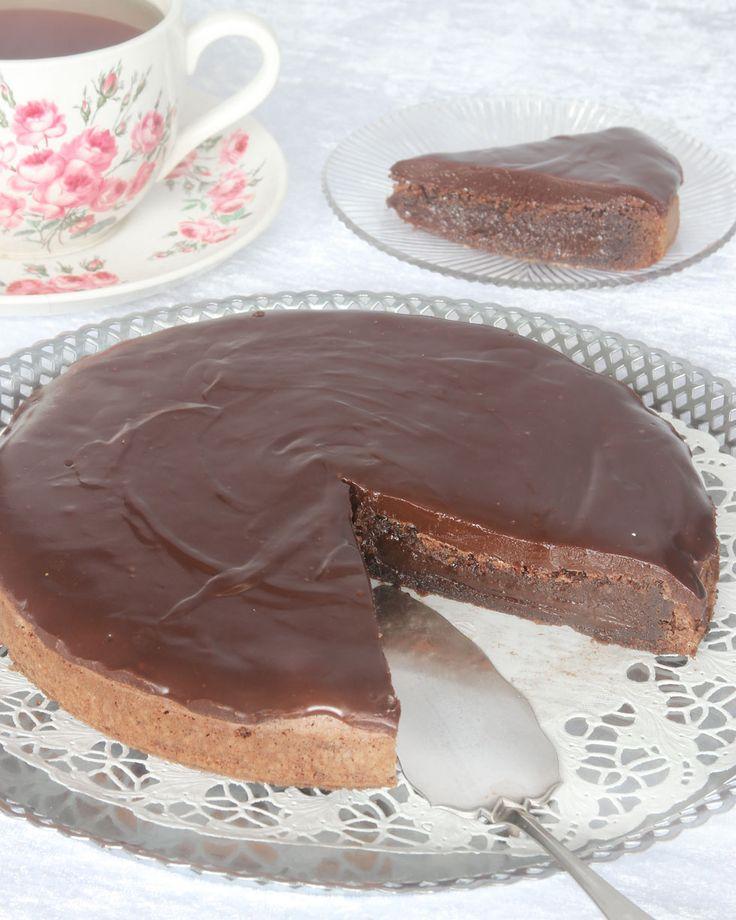 Tryffeltårta – Lindas Bakskola