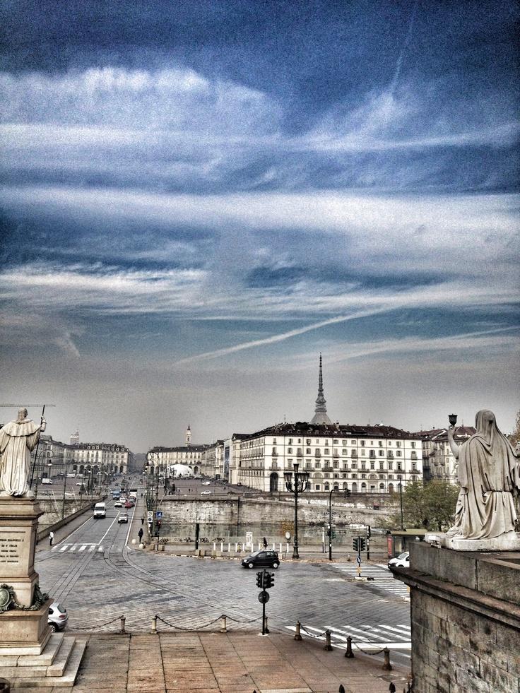 Piazza Vittorio Veneto  Learn Italian in Turin : www.ciaoitaly-turin.com