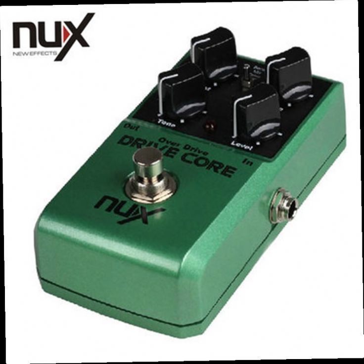51.99$  Buy now - http://aliokd.worldwells.pw/go.php?t=32649247259 - NUX Drive Core Mini Guitar Violao Parts Electric Effect Pedal Mixture of Boost and Overdrive Sound True Bypass 51.99$